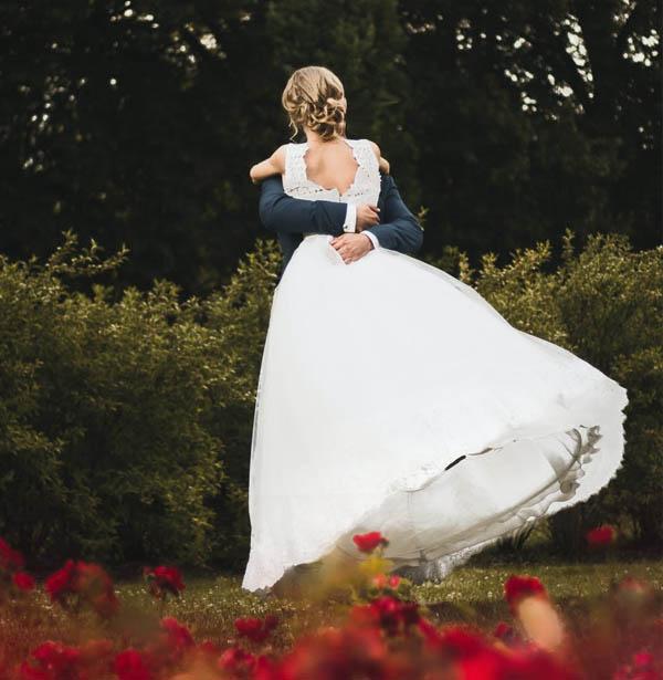 Bryllup utendørs
