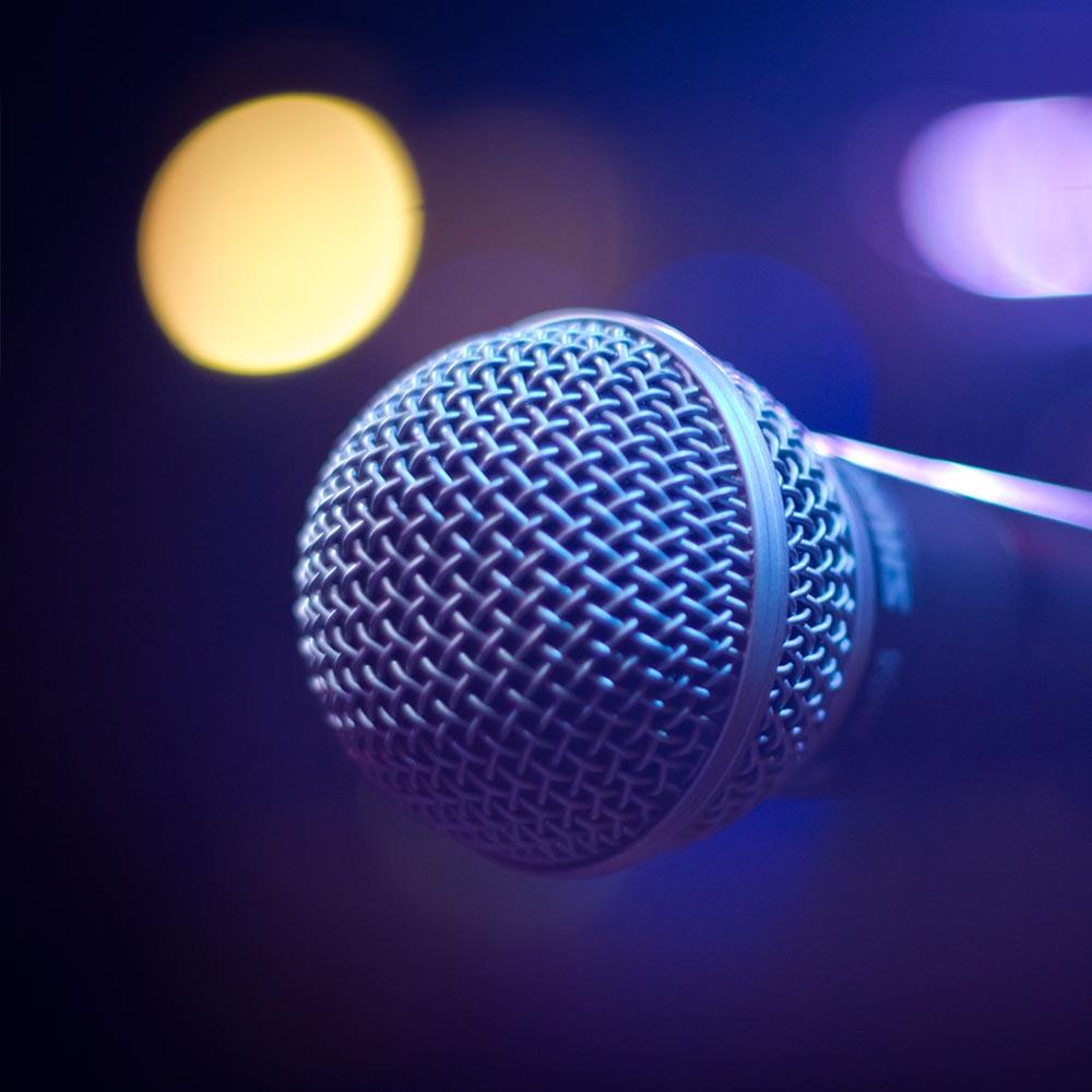 Utleie og salg av lysutstyr mikrofon
