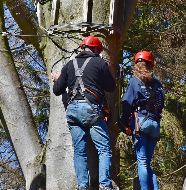 Teambuilding i klatrepark