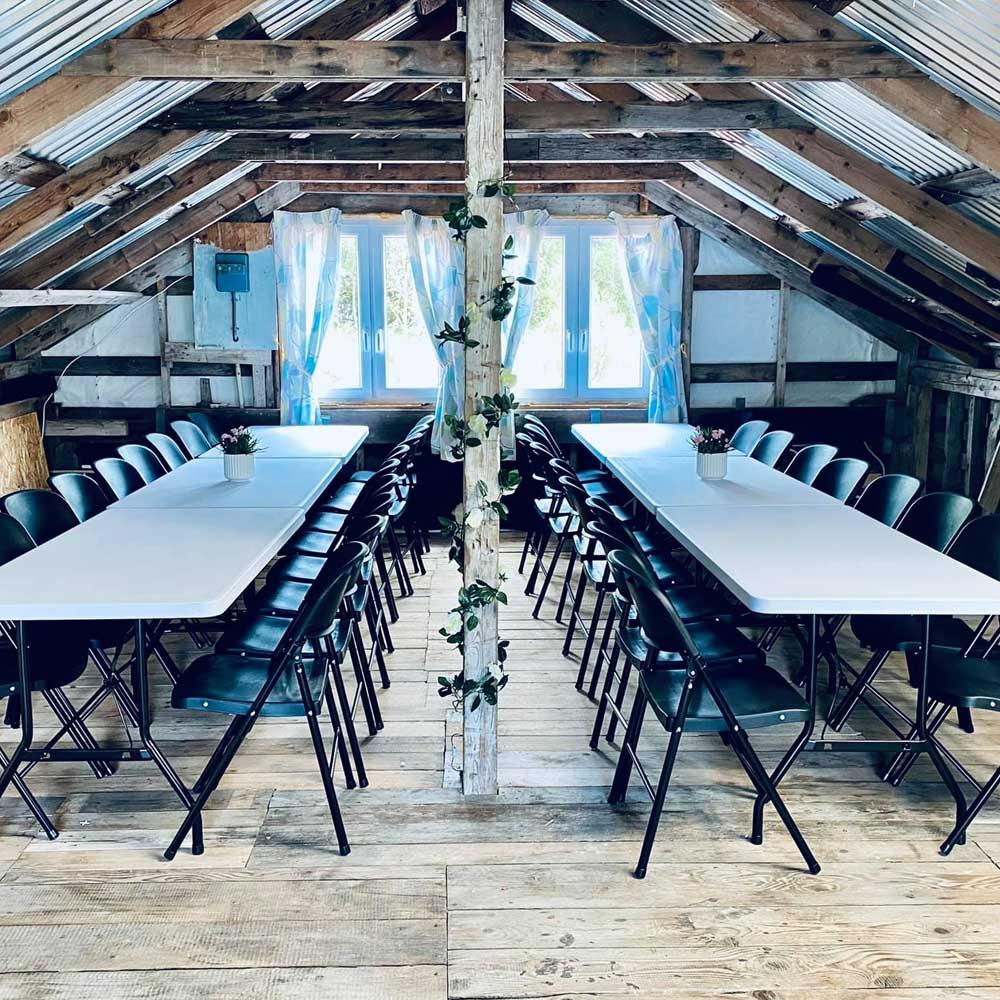 Lokaler for bryllup og konferanser