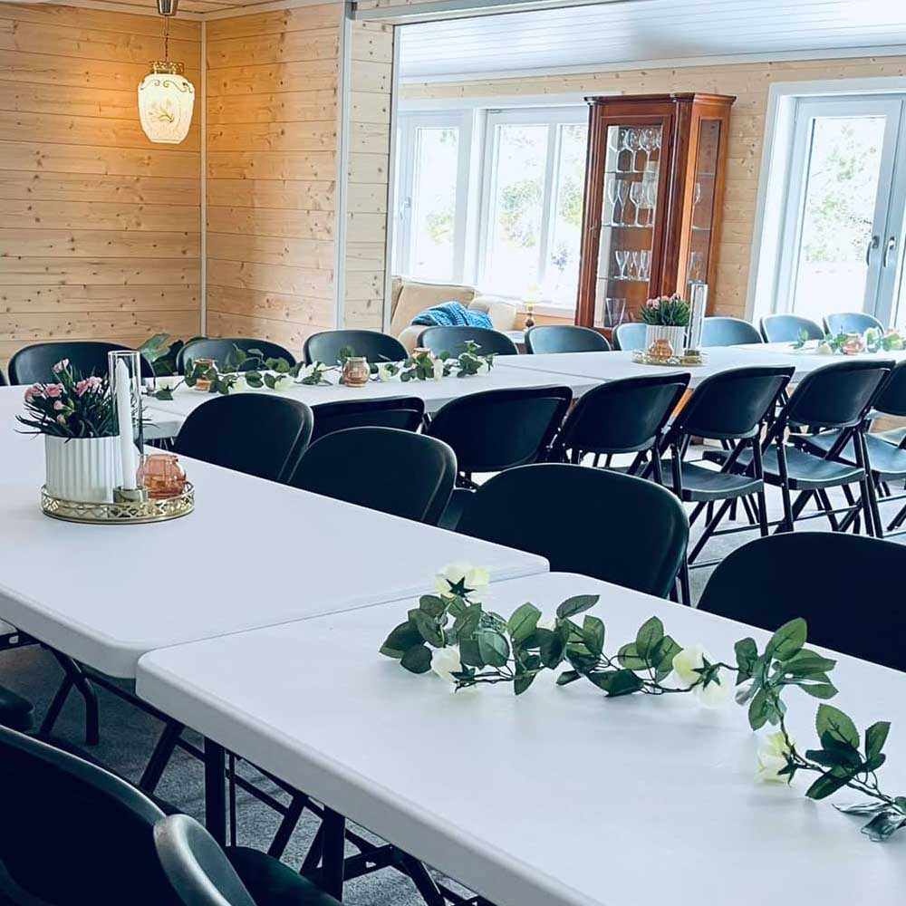 Selskapslokaler for bryllup
